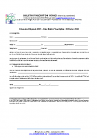 Bulletin d'inscription extension Polynésie 2019