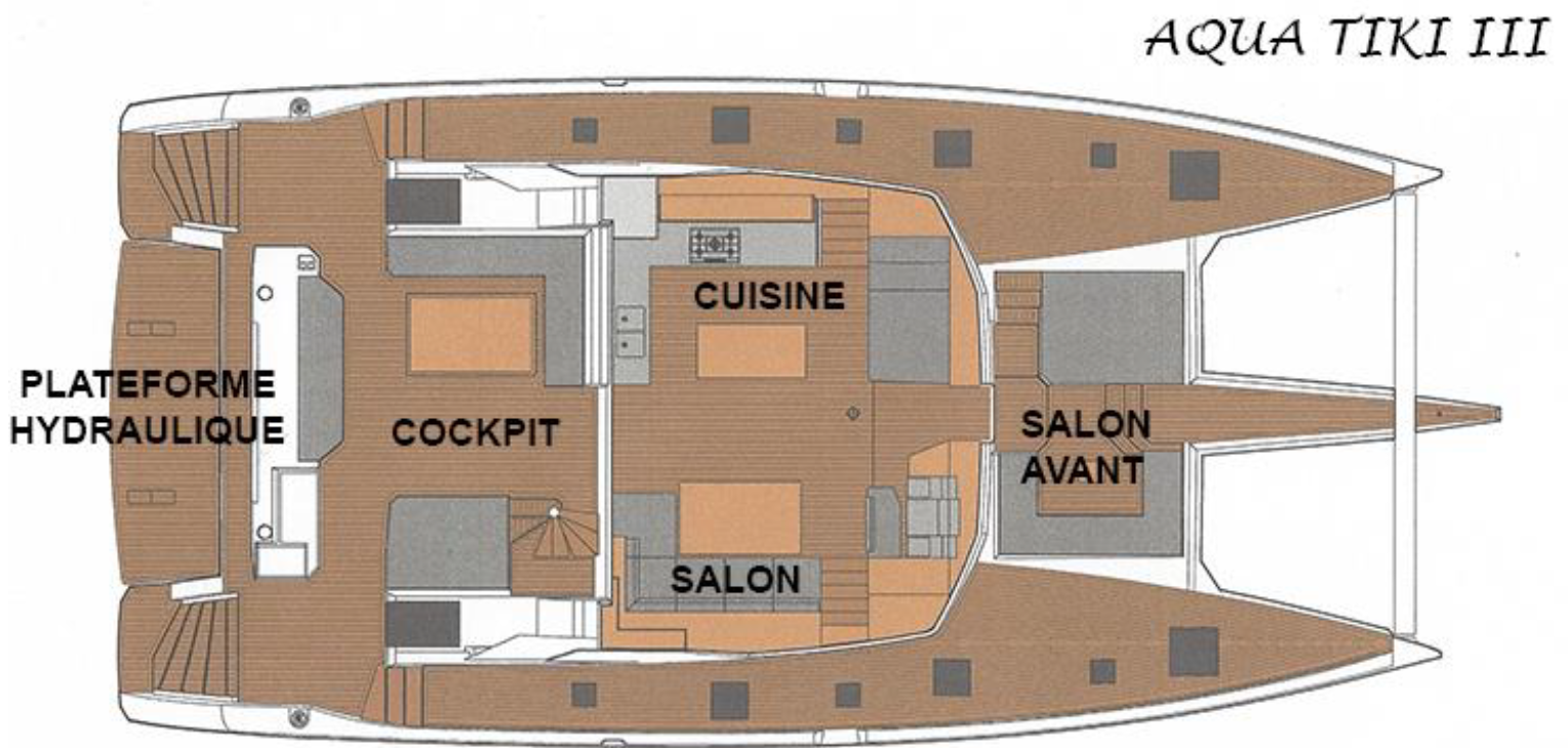 Bateau Aqua TIKI 3